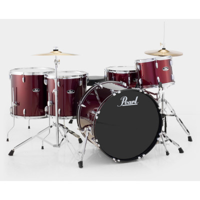 Pearl RS Roadshow Series 5pc Two on the Floor Complete Kit