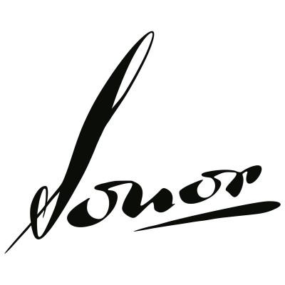 Sonor Vintage Script Logo