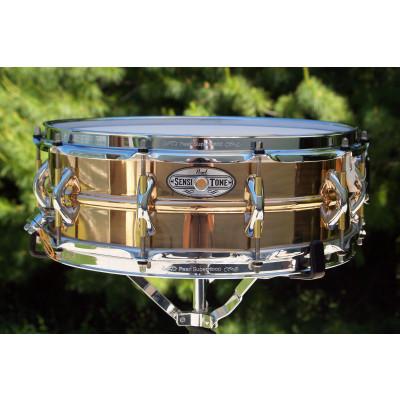 """Pearl 14""""x5"""" Beaded Phosphor Bronze SensiTone Premium Snare Drum - STA-1450PB"""