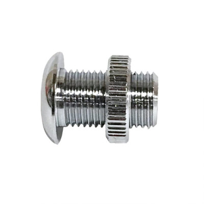 "Threaded Air Vent 1/2"" x 7/8"" Long - Chrome"