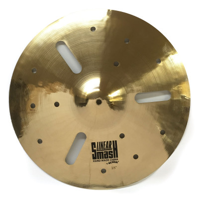 "Wuhan WULSMASH18 18"" XK Linear Smash Special Effects Cymbal"