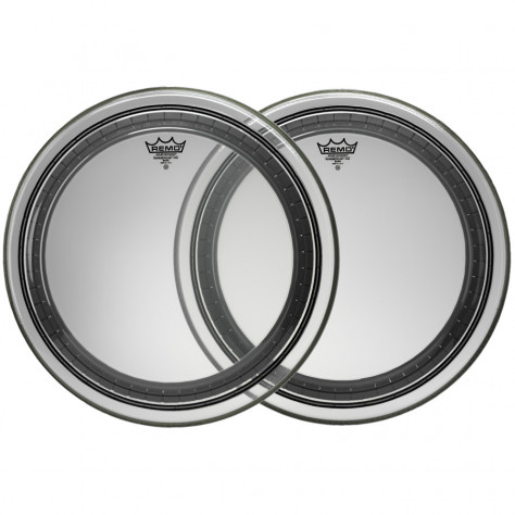 remo powerstroke pro bass drum head clear 22 inch drums on sale. Black Bedroom Furniture Sets. Home Design Ideas