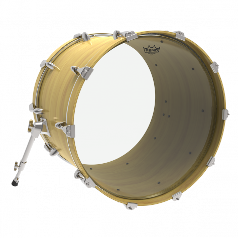 remo ambassador clear bass drumheads drums on sale. Black Bedroom Furniture Sets. Home Design Ideas