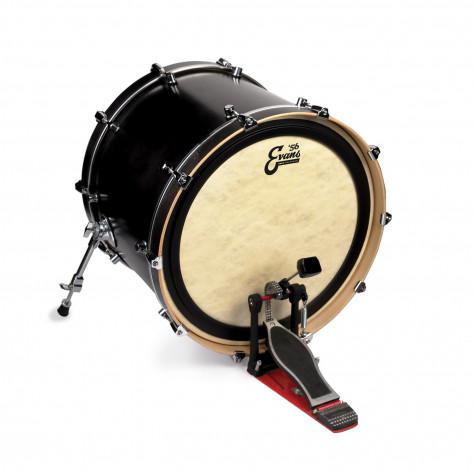 evans 18 emad calftone bass drum head drums on sale. Black Bedroom Furniture Sets. Home Design Ideas